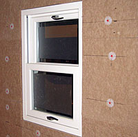 wall insulation and triple glazing